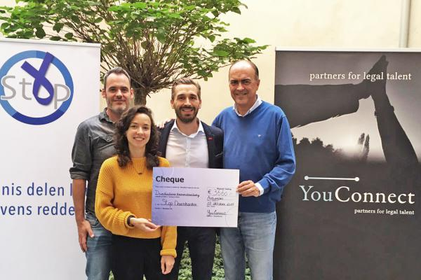 YouConnect raised more than 3,500 EUR for Stop Darmkanker